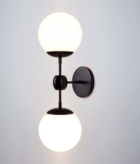 бра Modo by ROLL and HILL  Sconce - 2 Globes ( white )
