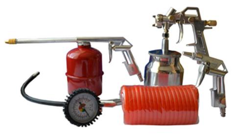 Набор пневматического инструмента unipro U-500 (5 предметов)