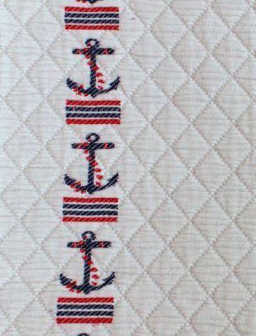 Покрывало 150х220 Luxberry Морячок бежевое
