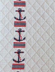 Элитное покрывало подростковое Морячок бежевое от Luxberry
