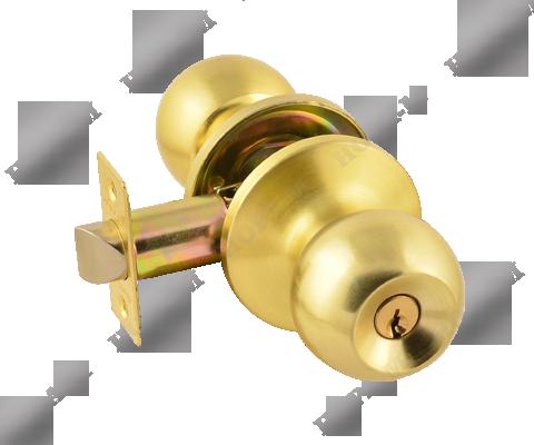 Фурнитура - Ручка Дверная  Nora-M ЗШ-05, цвет золото матовое