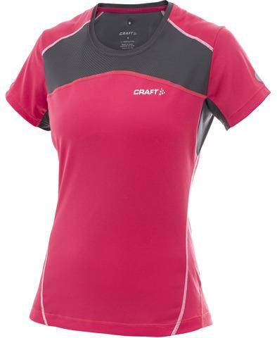 Футболка беговая женская Craft Performance pink
