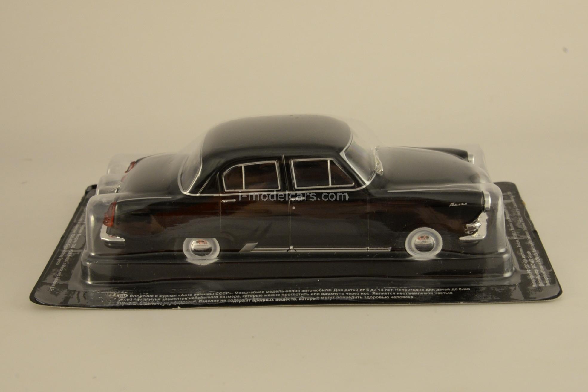 GAZ-21R Volga black 1:43 DeAgostini Auto Legends USSR #73