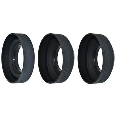 Бленда JJC LS-40.5S 3 этап складная резиновая на 40,5mm