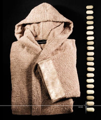 Халат махровый Cesare Paciotti Stiletto белоснежный