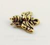 """Подвеска TierraCast """"Пчела"""" (цвет-античное золото) 16х12 мм"""