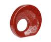 Элитная ваза декоративная Red Passion круглая большая от Sporvil
