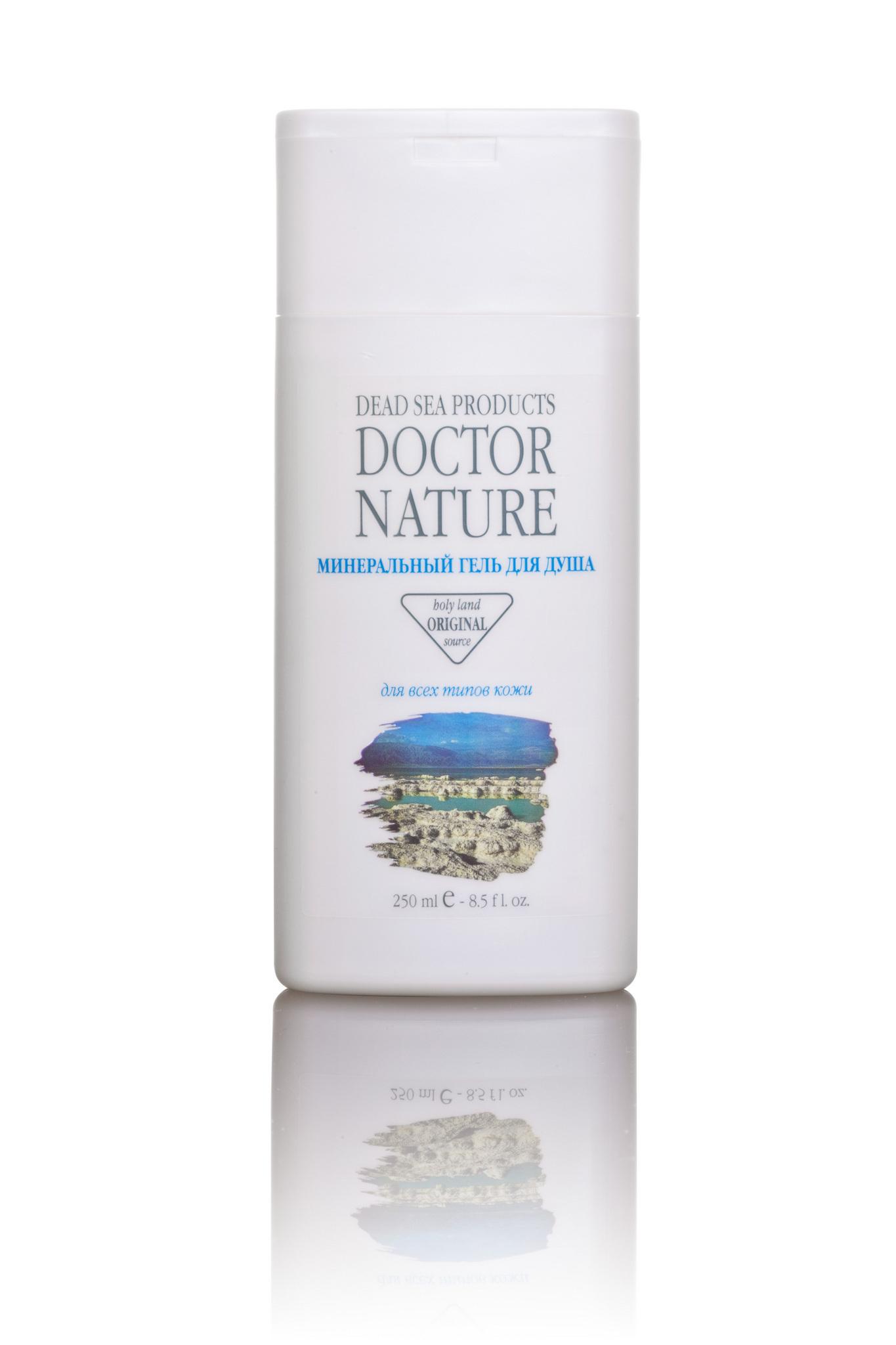 Doctor Nature минеральный гель д/душа 250 мл.