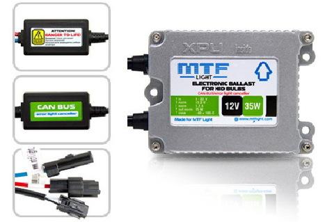 Блок розжига MTF Light 12V 35W Slim XPU с обманкой
