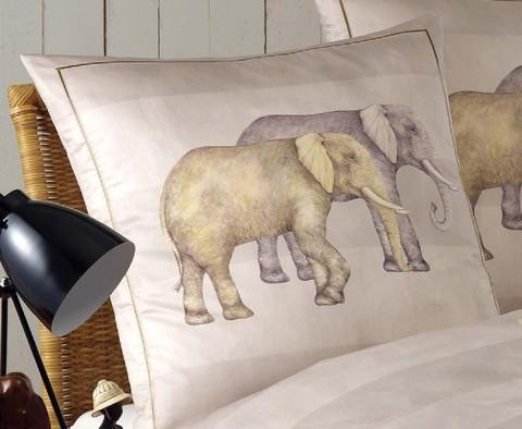 Элитная наволочка Elephant персиковая от Elegante