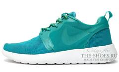Кроссовки женские Nike Roshe Run Turq White