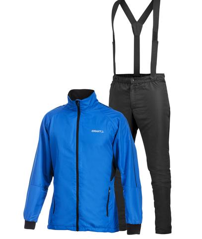 Лыжный костюм Craft AXC Training мужской синий