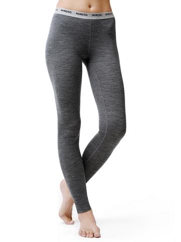 Термобелье кальсоны Norveg Soft Leggins для женщин (Легинсы) серые