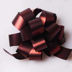 Бант 18 мм  6809/38  шоколад