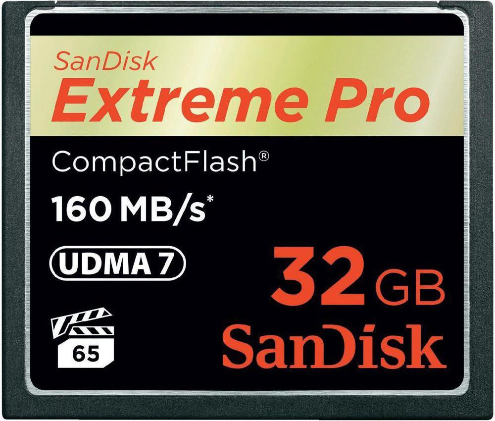 Compact Flash 32Gb Sandisk Extreme pro 1067x
