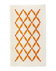 Коврик для ванной 50x80 Abyss & Habidecor Boudoir 635 оранжевый