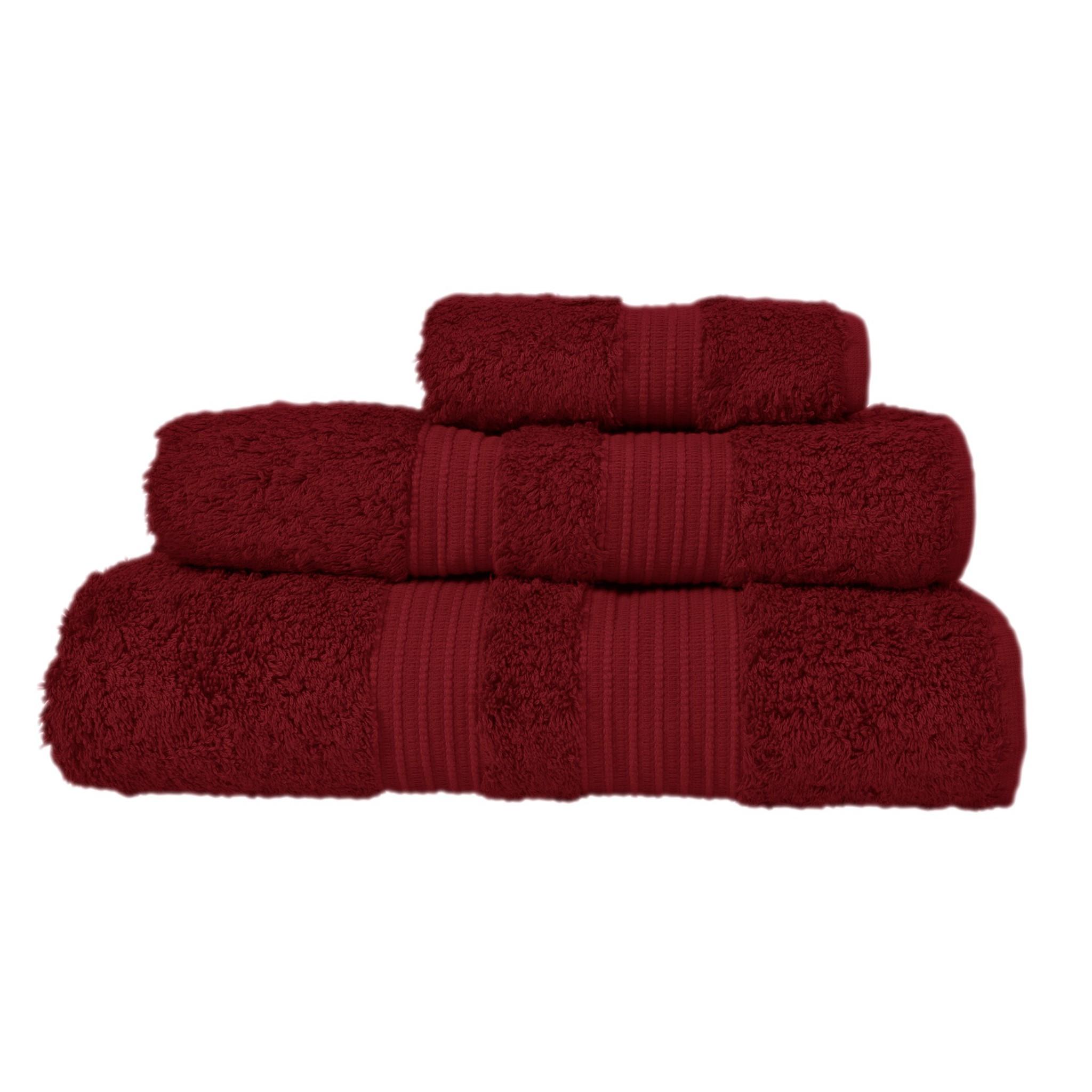 Полотенце 30x50 Casual Avenue London красное