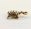 "Подвеска TierraCast ""Черепаха"" 3D (цвет-античное золото) 20х11 мм"