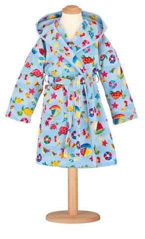 Элитный халат детский шенилловый Ocean от Feiler