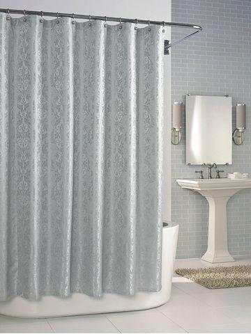 Элитная шторка для ванной Parisian Dove Grey от Kassatex