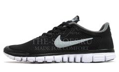 Кроссовки Мужские Nike Free Run 3.0 V2 Black Grey White