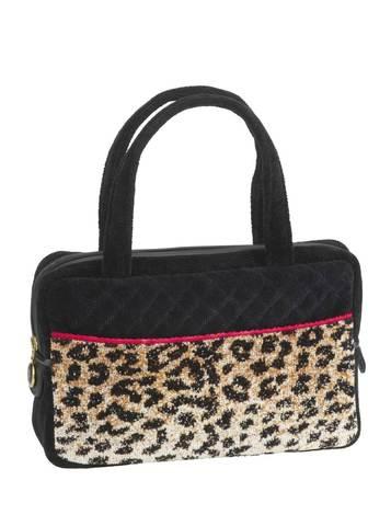 Элитная сумка шенилловая Safari ТА 8 10 schwarz от Feiler