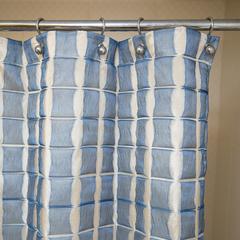 Элитная шторка для ванной 180х200 Reno Azul от Arti-Deco