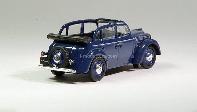 Moskvich-400-420A dark blue 1:43 DeAgostini Auto Legends USSR #5