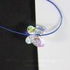 5754 Бусина в виде бабочки Сваровски Crystal AB 8 мм ()
