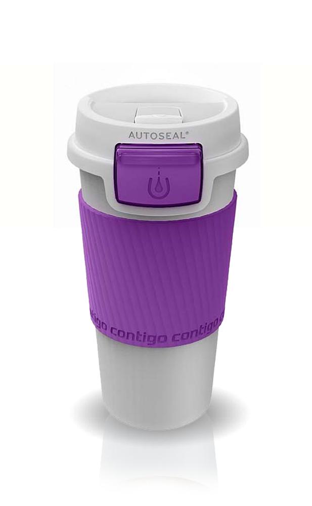 Термокружка Contigo Morgan (0.36 литра) фиолетовая