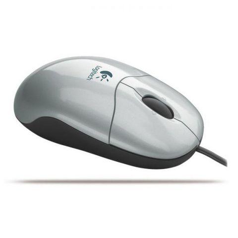 Мышь LOGITECH Pilot silver USB PS/2