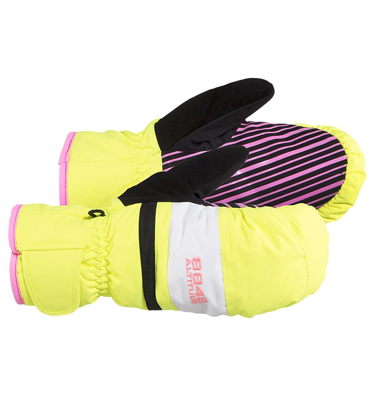 Варежки 8848 Altitude Wispty подростковые Neon Yellow