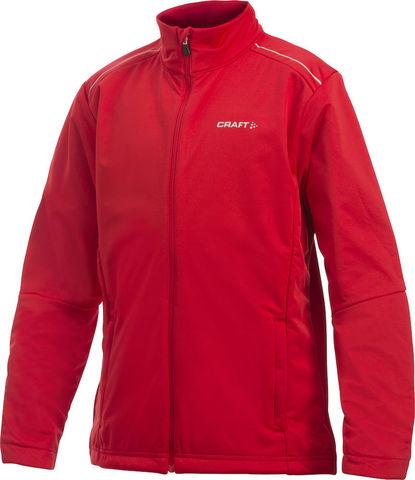 Детская лыжная куртка Craft Warm Storm Red