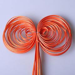 Завиток круглый оранжевый