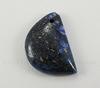Подвеска Ляпис Лазурит (прессов., тониров) (цвет - темно-синий) 32,3х21,7х7,8 мм №157
