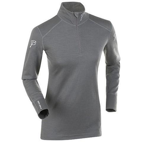Термобелье Bjorn Daehlie Half Zip Active LS рубашка женская