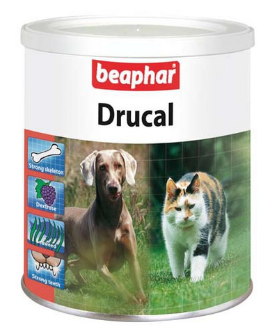 12571 Беафар Drucal Известковая смесь д/собак 500гр*6