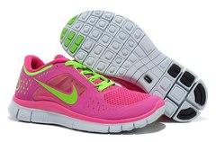 Кроссовки женские Nike Free Run Pink Green