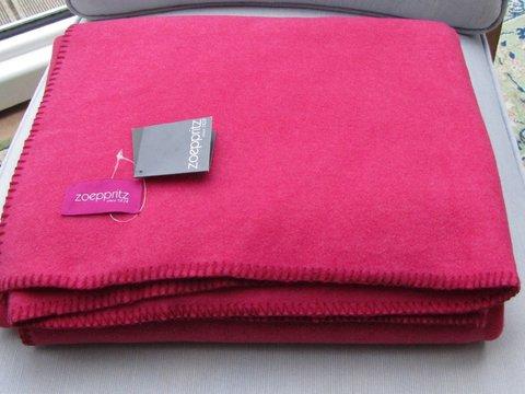 Плед 220х240 Soft Fleece розовый от Zoeppritz розовый