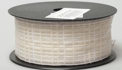 Лента Florima 4см*9м бело-кремовый в клетку