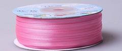 Лента атласная AL-3P 3мм*91,4м розовый