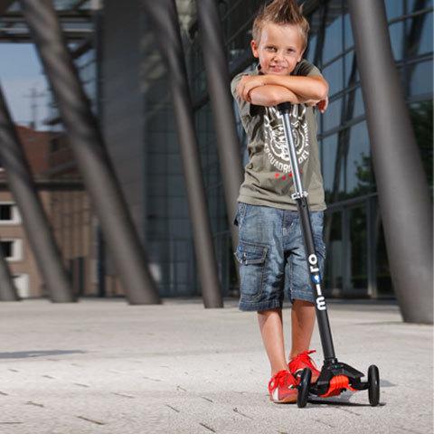 micro scooter maxi micro черный