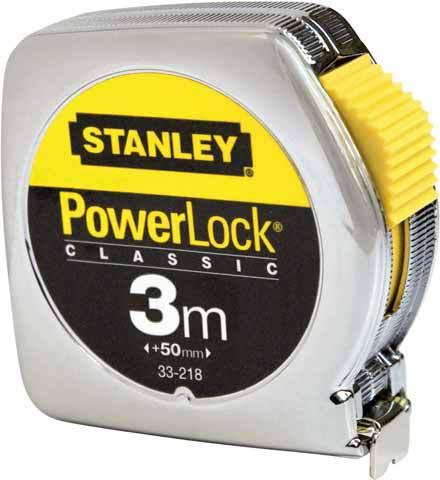Рулетка 3м   Powerlock Stanley 33-218