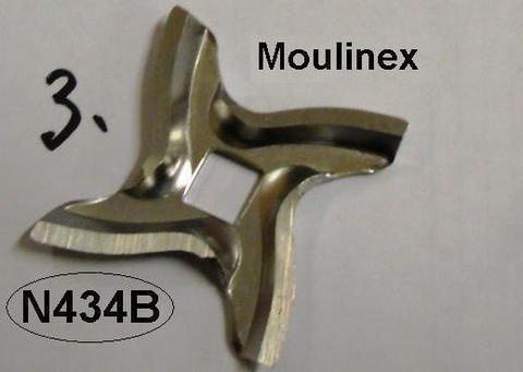 Нож+решетка для мясорубки moulinex (мулинекс) четырехгранник (квадрат) MA-A09B03 БОЛЕЕ НЕ ПОСТАВЛЯЕТСЯ КОМПЛЕКТОМ, СМ. ОТДЕЛЬНЫЕ ПОЗИЦИИ!