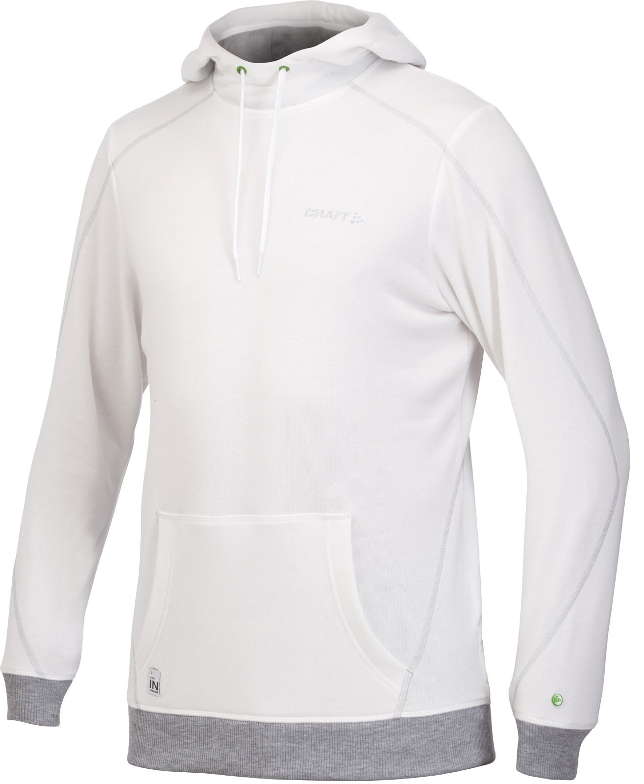 Мужская толстовка Craft In the Zone Hood white (1902628-2900)