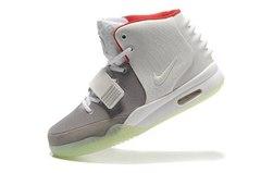 Кроссовки Женские Nike Air Yeezy 2 Grey By Kanye West