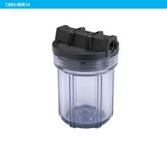 """Водоочиститель C889-B12PR-BN 5"""" (прозрачная колба 5"""", 3-х компонентная, 1/2"""", картридж), Райфил"""
