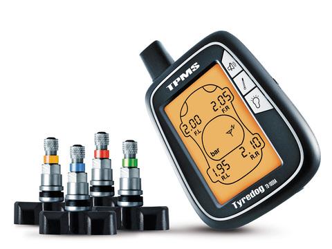Датчики давления в шинах (TPMS) Carax CRX-1003 с 4-я датчиками