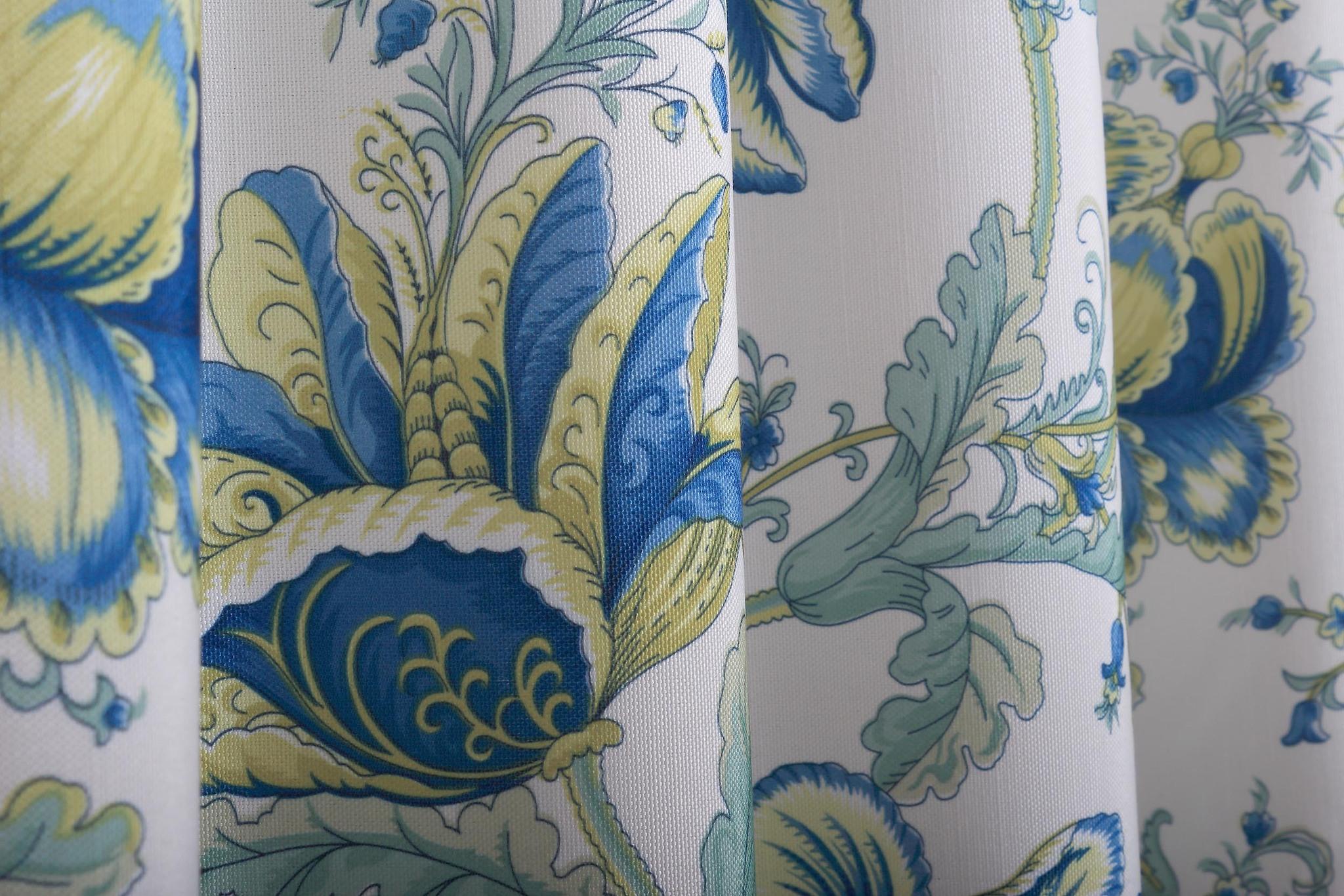 Готовая штора. Портьера с печатным рисунком Lolitta-2