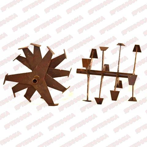 Фреза гусинные лапки шестигранная втулка для мотоблока S-24